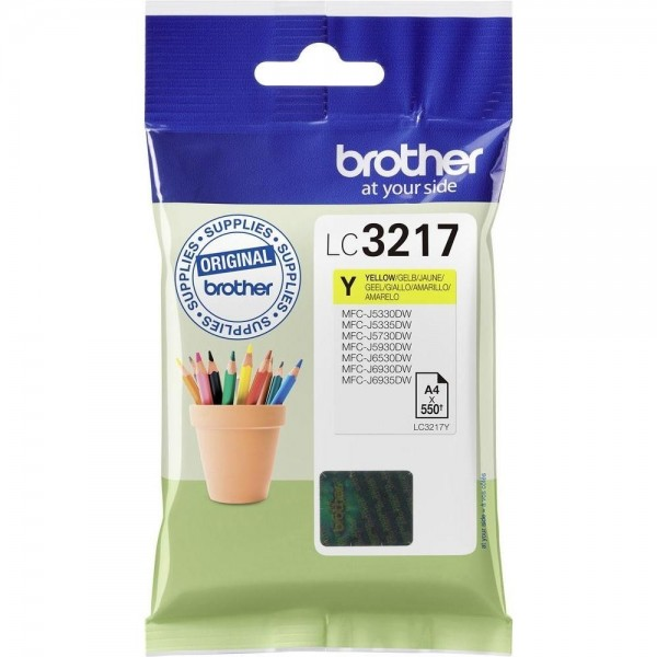 Cartouche d'encre Brother lc3217y