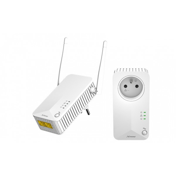 STRONG POWERLWF500 Kit CPL X2 +1 WIFI 500Mbps