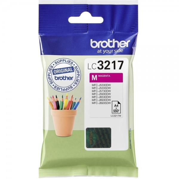 Cartouche d'encre Brother lc3217m