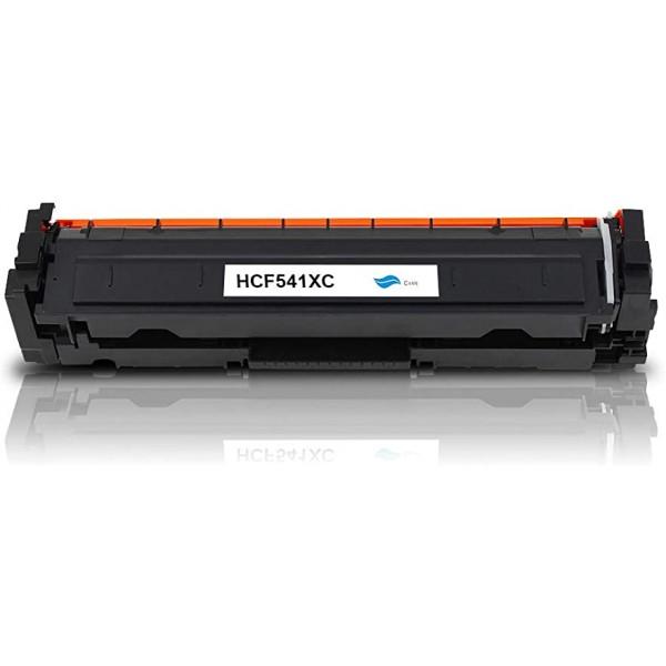 Toner HP compatible HCF541XC (Cyan)