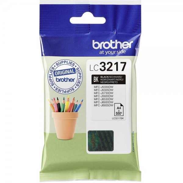 Cartouche d'encre Brother lc3217bk
