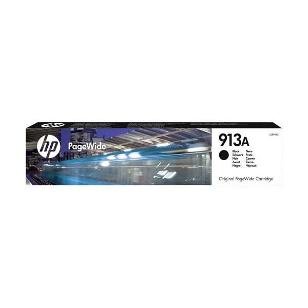 HP 913A -(col 24) Cartouche d'encre Noire PageWide - 64 ml - 3 500 pages