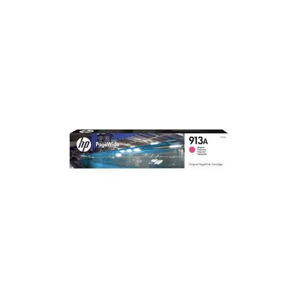HP 913A - Cartouche Magenta PageWide - 37 ml - 3 000 pages