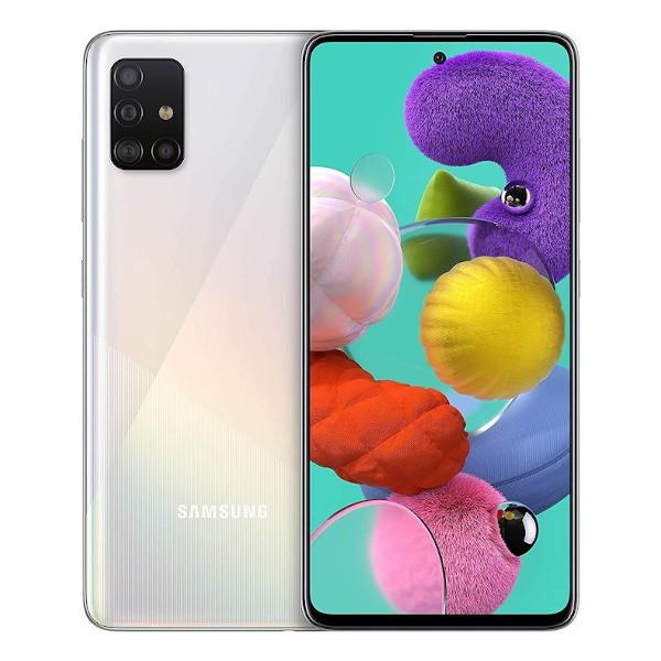 SAMSUNG Galaxy A51 (A515F) 4G DS 6,5 fHD Octa 4/128Go 4Cam• M.Silver