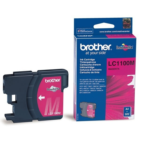 Cartouche d'encre brother lc1100m