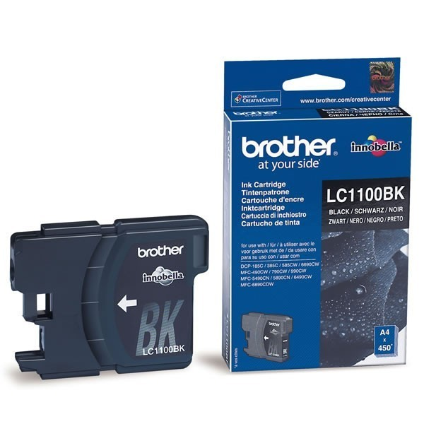 Cartouche d'encre brother lc1100bk