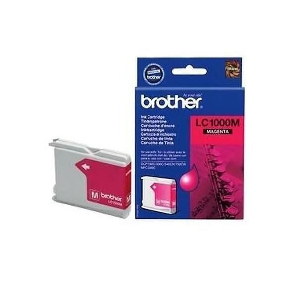 Cartouche d'encre brother lc1000m