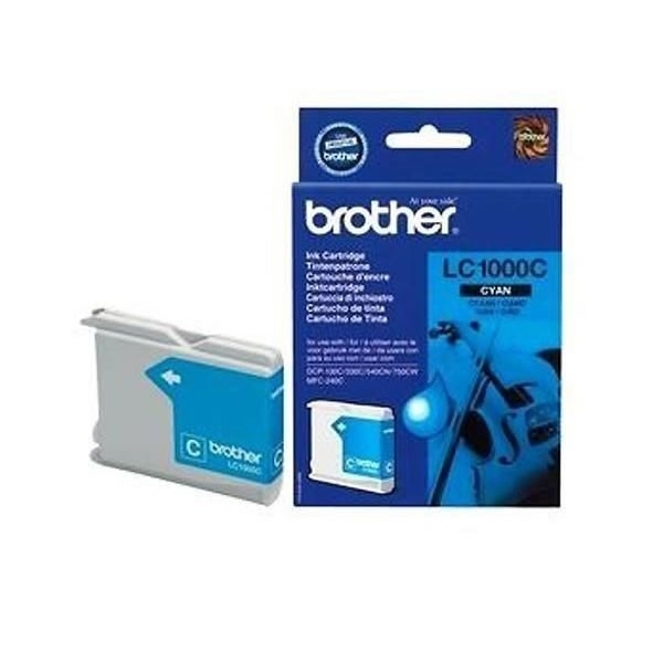 Cartouche d'encre brother lc1000c