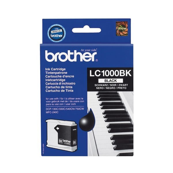 Cartouche d'encre brother lc1000bk