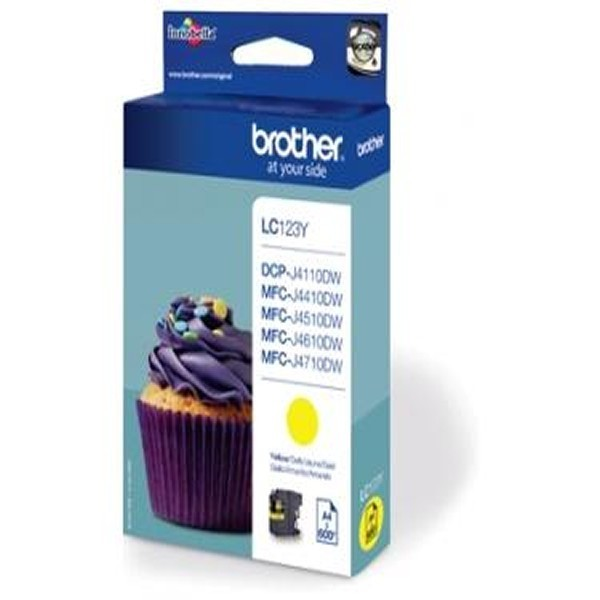 Cartouche d'encre brother lc123y