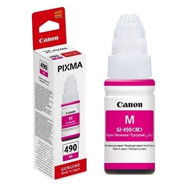 Canon GI490-M - Bouteille d'encre canon gi-490 magenta