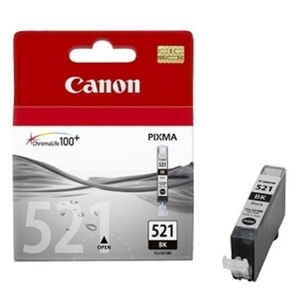 Canon CLI-521BK - Cartouche d'encre Canon CLI-521 BK / 2933B001 noir