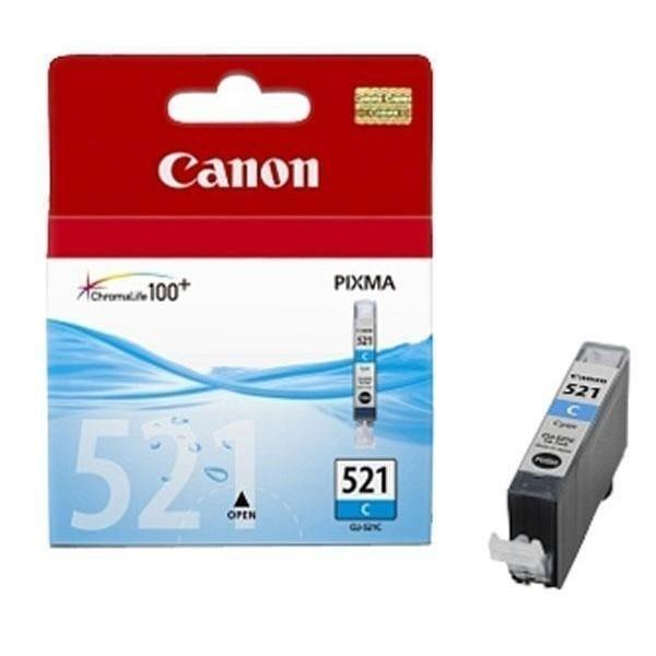 Canon CLI-521C - Cartouche d'encre Canon CLI-521 C / 2934B001 cyan