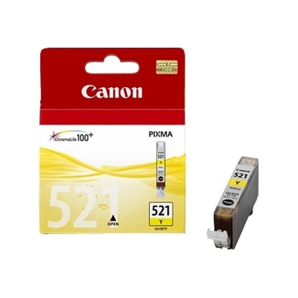 Canon CLI-521Y - Cartouche d'encre Canon CLI-521 Y / 2936B001 jaune