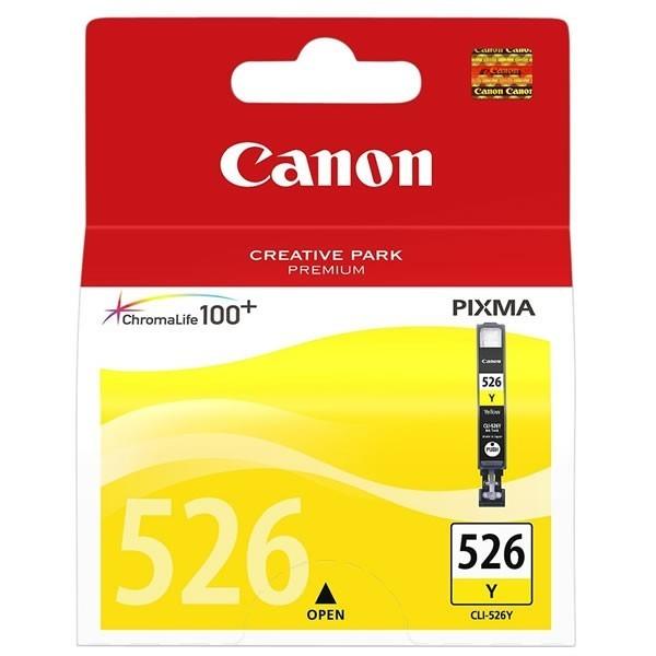 Canon CLI-526Y - Cartouche d'encre Canon CLI-526 Y / 4543B001 jaune