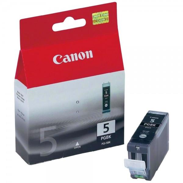 Canon PGI-5BK - Cartouche d'encre Canon PGI-5 BK noir pigmentee