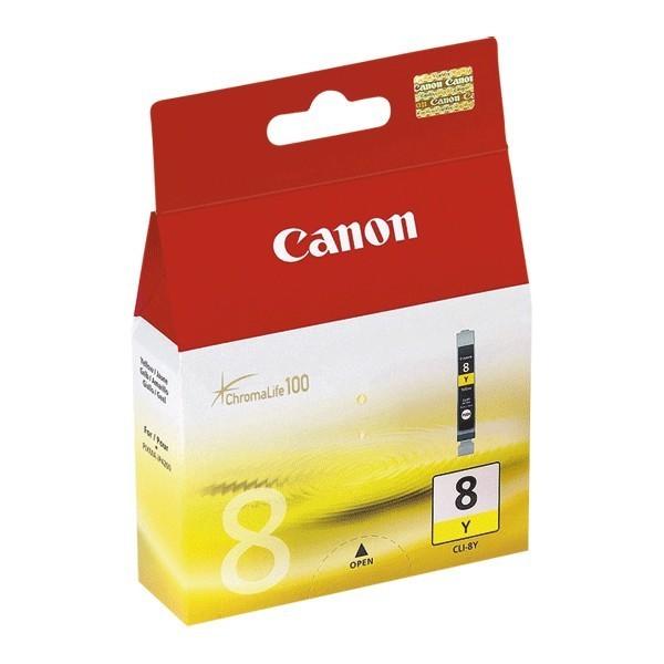 Canon CLI-8Y - Cartouche d'encre Canon CLI-8Y / 0623B001 jaune
