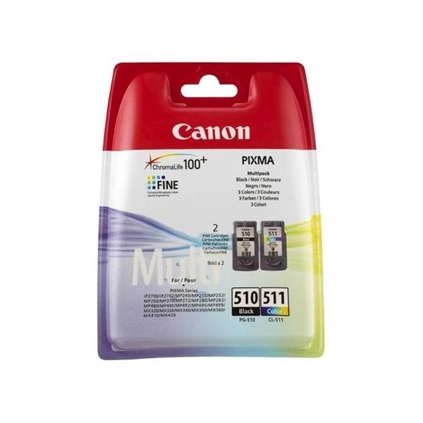 Canon PG-510/CL-511 - Multipack Cartouche d'encre Canon 2970B010