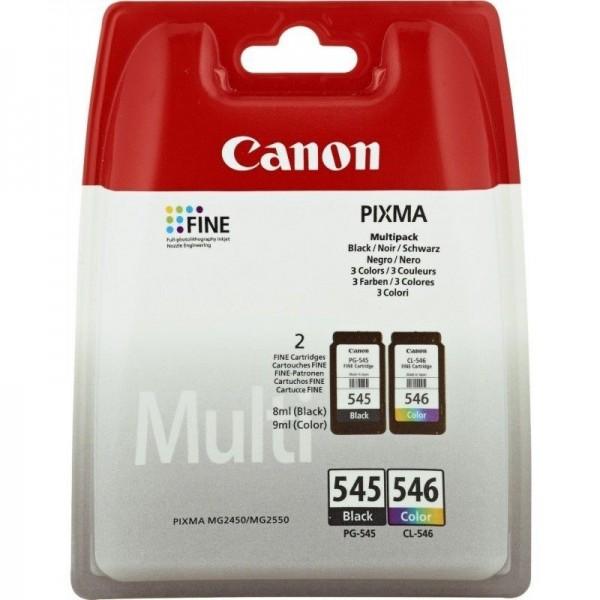 CANON PG545-CL-546 - Pack cartouche d'encre Canon pg-545 et cl-546 8287B005