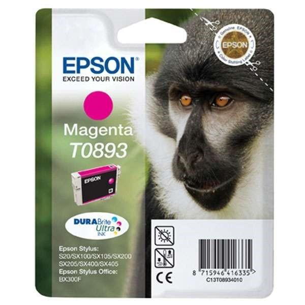 Epson T0893 - Cartouche d'encre Epson T0893 C13T08934010 magenta (singe / T893)