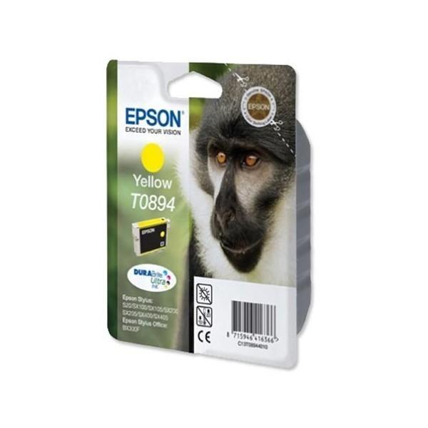 Epson T0894 - Cartouche d'encre Epson T0894 C13T08944010 jaune (singe / T894)
