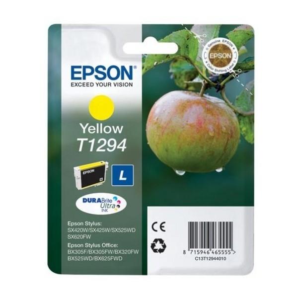 Epson T1294 - Cartouche d'encre Epson C13T129440 jaune (pomme)
