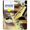 """EPSON T1624 - Cartouche d'encre Epson T1624 """"Stylo à plume jaune"""""""