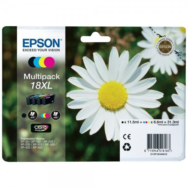 Epson T1816 - Multipack de 4 cartouches Epson série 18XL Pâquerette