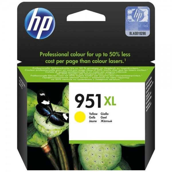 HP 951XL - Cartouche d'encre HP n 951XL CN048AE jaune