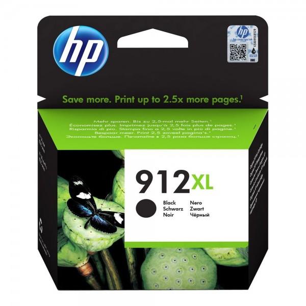 HP 912XL Noire - Cartouche d'encre HP 912 XL 3YL84AE