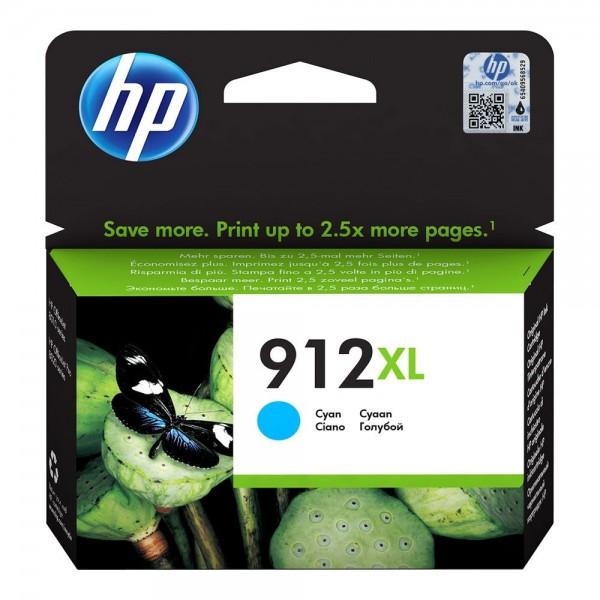 HP 912 XL Cyan - Cartouche HP 912 XL Cyan 3YL81AE