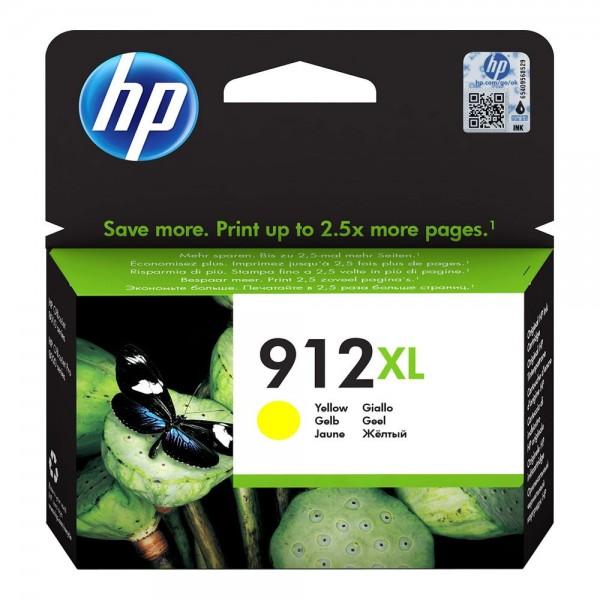 HP 912 XL Jaune - Cartouche HP 912 XL Jaune 3YL83AE