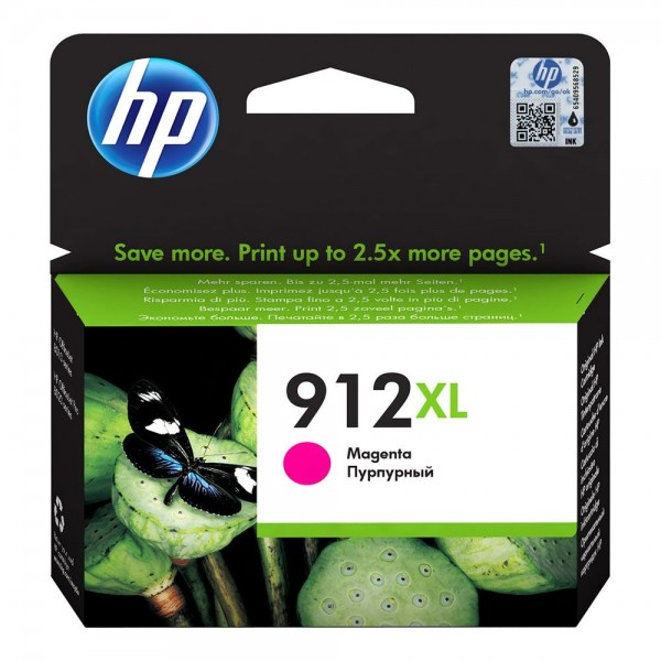 HP 912 XL Magenta - Cartouche HP 912 XL Magenta 3YL82AE