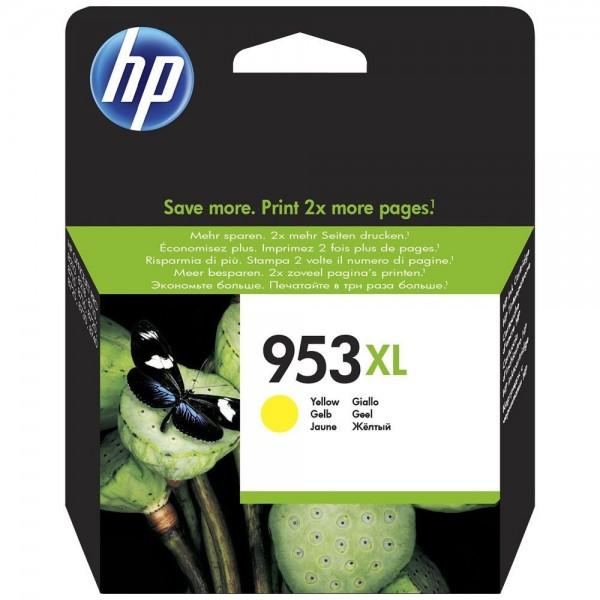 HP 953XL - Cartouche d'encre HP 953XL jaune F6U18AE