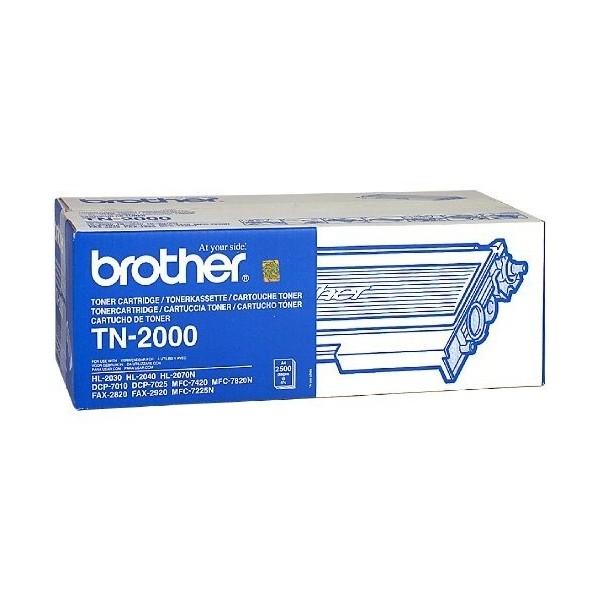 Brother TN2000 - Toner Brother TN-2000 noir