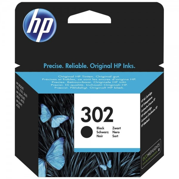 HP 302 - cartouche de marque hp 302 noire F6U66AE