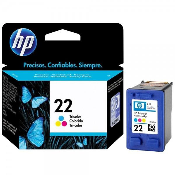 HP 22 - Cartouche d'encre HP n 22 C9352A couleur