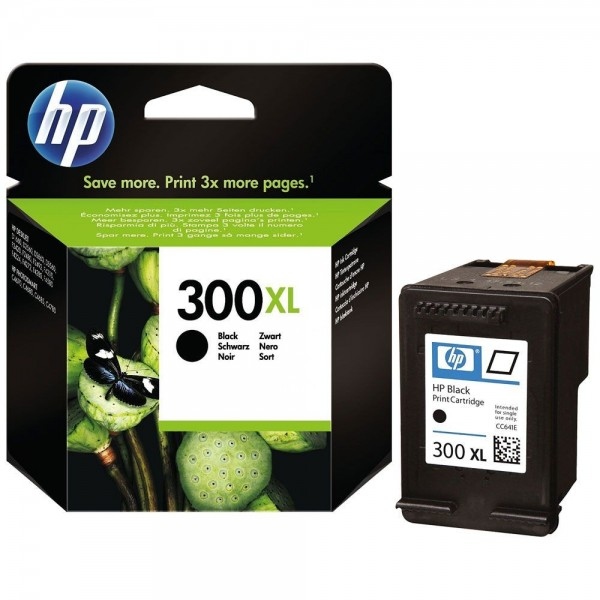 HP 300XL - Cartouche d'encre HP n 300XL CC641EE Vivera noir