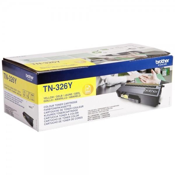 Brother TN-326Y - Toner Brother TN326Y jaune