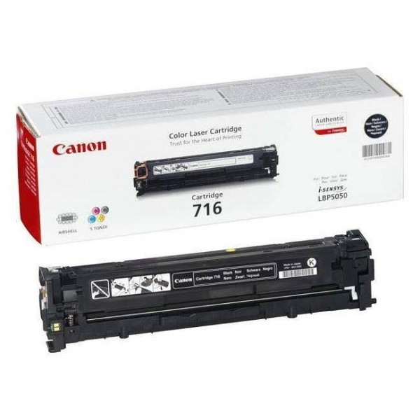 CANON 716 BK- Toner d'impression Canon 716 noir 1980B002AA