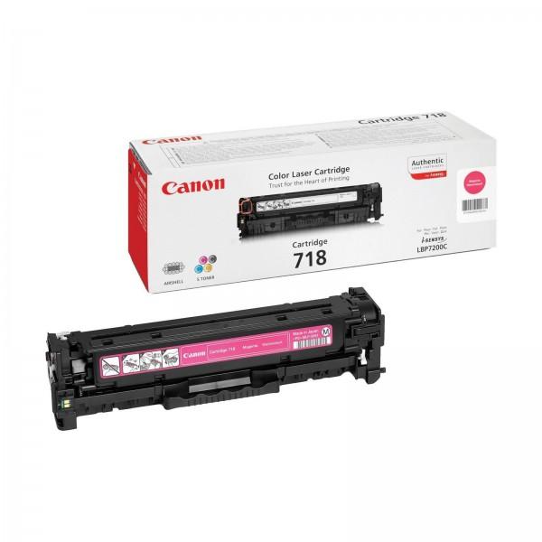 CANON 718 M - Toner d'impression Canon 718 magenta 2660B002AA