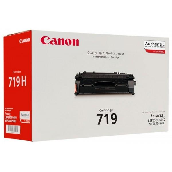 CANON CRG 719 - Toner d'impression Canon CRG 719 noir 3479B002AA