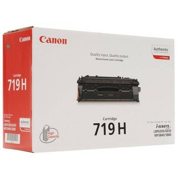 CANON CRG 719H - Toner d'impression Canon CRG 719 noir  Haute capacité 3480B002AA