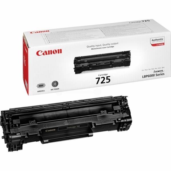 CANON CRG 725 - Toner d'impression Canon CRG 725 noir 3484B002