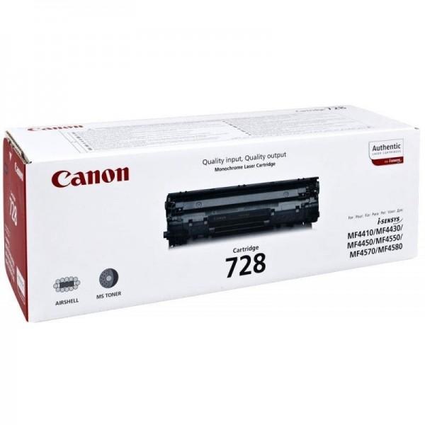 CANON CRG 728 - Toner d'impression Canon CRG 728 noir 3500B002