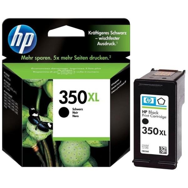 HP 350 XL - Cartouche d'encre HP n 350XL CB336EE Vivera noir
