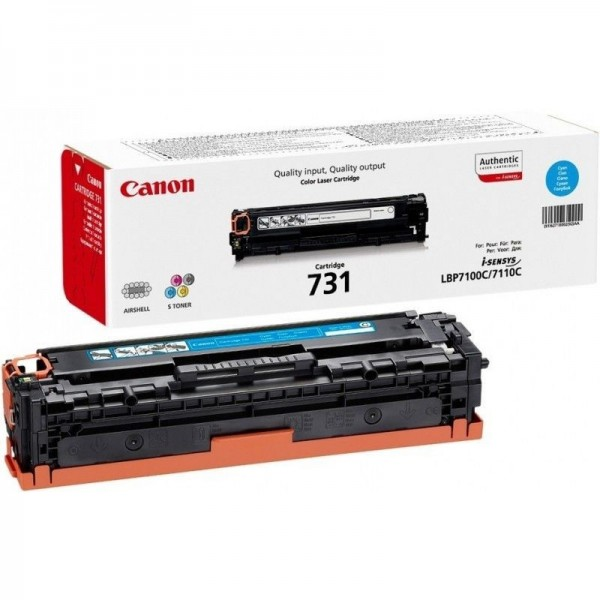 CANON 731 C - Toner d'impression Canon 731 Cyan 6271B002