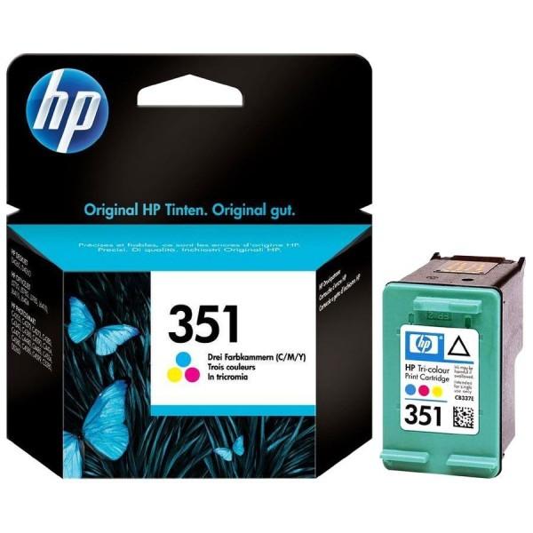 HP 351 - Cartouche d'encre HP n 351 CB337EE Vivera couleur