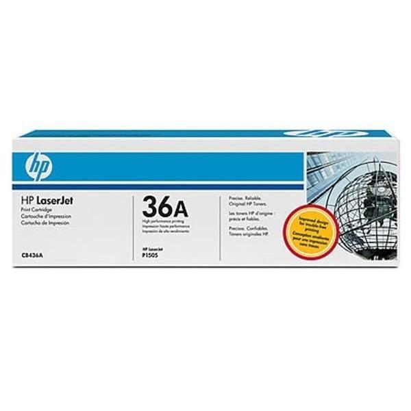 HP 36A - Toner HP CB436A noir