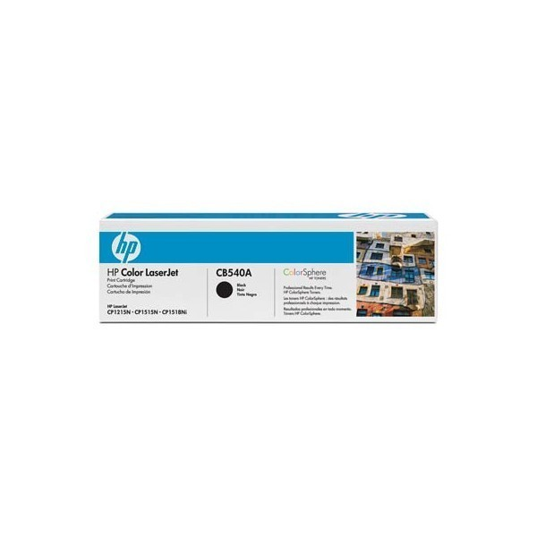 HP CB540A - Toner HP CB540A Colorsphere noir